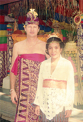 Made Jati Claimed a Bali Marriage in Kuta in 1996.